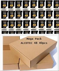 40x Turbo Kvasnice Alcotec 48h-Mega pack - Mega pack 40ks Alcotec 48 Turbo kvasinky jsou téměř nejprodávanější turbo kvasnice na světě.  Za 48h 14% alkoholu.  Pro cukerné a ovocné kvasy.