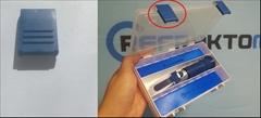 Náhradní klip na Box -Světle Modrá - Náhradní klip pro box refraktometru.