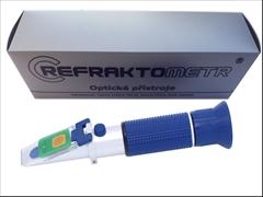 Refraktometr®, kvas 0-32%,LED-A - Refraktometr k sledovaní celého průběhu kvašení. Tělo přistroje z lehkých slitin. Laboratorní přesnost -±0,2% ,Testovaná přesnost -±0,3%