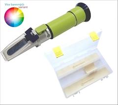 REF30-HA Med |10-30% voda| - Refrakometr na med - poloprofesionální. Přístroj měří obsah obsah vody v medu o rozsahu 10-30%,Refraktometr je vybaven ATC (automatickou tepl.kompenzaci)