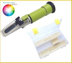 REF30-HM Med |10-30% voda| - Profesionální refraktometr na med. Přístroj měří obsah obsah vody v medu o rozsahu 10-30%,Refraktometr je vybaven ATC (automatickou tepl.kompenzaci)