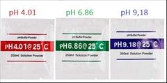 Kalibrační roztoky/Pufry pH4.01+pH6,86+pH9,18 - Kalibrační roztoky/Pufry pH4.01+pH6,86+pH9,18