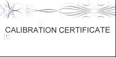 Certifikované roztoky