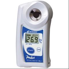 Atago PAL-1_0-53brix - Digitalní refraktometr PAL-1, rozsah: 0-53 % Brix, rozlišení: o,1 % Brix, odchylka +/- 0,2 % Brix