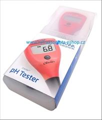 PH tester 0-14pH , rozlišení 0,1 pH - Přístroj pro měření PH - Rozsah 0-14, rozlišení 0,1 pH, přesnost 0,2 pH, vyměnitelná elektroda, s tenkým plastovým tělem.