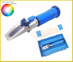 RHX32-MS |Refraktometr na kvas 0-27%°CK|0-27%Brix - Refraktometr s kalibrovatelnými necukry k sledovaní celého průběhu kvašení. Přístroj zohledňuje také vliv necukerných látek. Přístrojem změříte procento čistých zkvasitelných cukrů o rozsahu 0-27%°CK .Přístroj je možno přenastavit z °CK na % Brix.