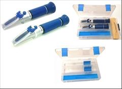 SET1-A Cukroměr a lihoměr 0-32%°Brix|0-80 obj.% - Cenově výhodný SET POLO-PROFESIONÁLNÍCH refraktometrů pro přípravu destilátu. Obsahuje 1x refraktometrický cukroměr a 1x refraktometrický lihoměr to vše v jednom praktickém kufříku.
